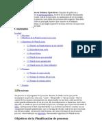 Planificación de Procesos en Sistemas Operativos