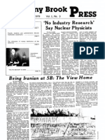 The Stony Brook Press - Volume 1, Issue 3