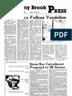 The Stony Brook Press - Volume 1, Issue 5