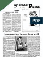 The Stony Brook Press - Volume 1, Issue 7