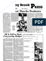 The Stony Brook Press - Volume 1, Issue 8