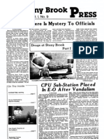 The Stony Brook Press - Volume 1, Issue 9
