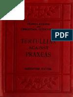 Souter. Tertullian