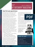 ASD Cyber Security Bulletin 2013 12