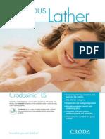 Crodasinic LS Leaflet
