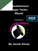Miscellaneous Magic Tricks e Book