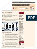 ¿Cómo Aumentar Su Productividad_ Seis Variables de La Eficacia Laboral - Empleo y Management _ Gestión