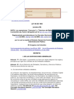 Ley 80 de 1993 (Contratacion)