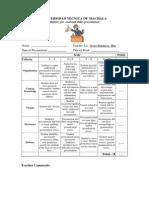 Rubrics for Slides Presentation