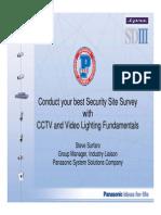 CCTV and Video Lighting Fundamentals