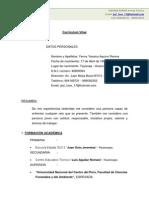Curriculum Vitae YESICA