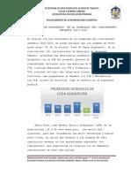 Análisis de Resultados de La Olimpiada Del Conocimiento Infantil 2013 (2)