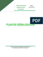 Plan de Señalizacion 3
