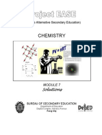 Chem M7 Solutions