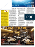 Business Events News for Wed 18 Jun 2014 - Bid to boost Oz events to NZ, MEETINGS off and running, ICC Sydney hotel ticked, Air NZ conf support and much more