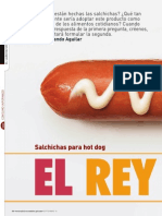 Análisis de Salchichas Para Hot Dog