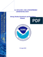 NOAA Medical Standards Procedures Manual