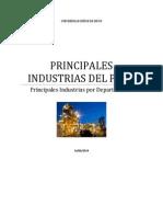 Principales Industrias Del Perú