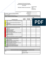 Personnel Training Plan and Record on Equipment Operation