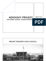 advocacy project-school connectedness