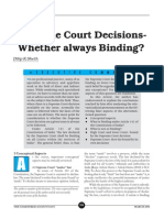 SC whether always binding