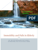 Immobility and Falls in Elderly 120114