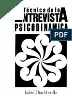 Técnica de La Entrevista Psicodinamica