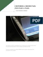 Hacking Motorola Sbg900 Para Novatos Paso a Paso