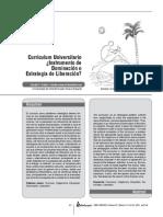 Curriculum Universitario (Instrumento de Donimacion o Estrategia de Liberacion)