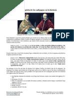 Una lista completa de los Antipapas en la Historia de la Iglesia Católica