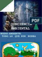 ISO Charla Conciencia Ambiental