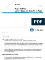 App Annie and IHS Technology Digital Content Report 2013