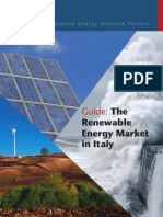 Renewable Energy Market in Italy