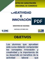 Curso Creatividad e Innovacion Subsecretaria de Hacienda