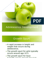 Adolescence Development