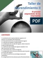 Sesion 02 - El Proceso Emprendedor de Los Empresarios