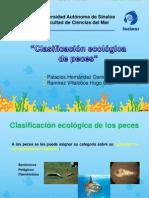 Clasif Ecológica de Peces