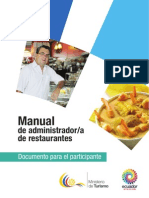 Pnct Manual Administrador de Restaurante