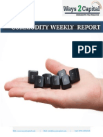 Commodity Report by Ways2Capital 18 June 2014