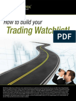 How to Build Your Trading Watchlist