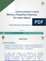 Presentacion Fortalecimeinto Mipes Sena Julio 2012 Enviada Por Mail