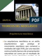 Teoricos Del Neoclásico