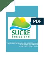 Plan Estrategico de Turismo de Sucre 2011