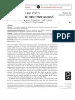 employee satisfaction and customer satisfaction