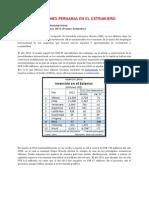 Inversiones Peruanas en El Extranjero