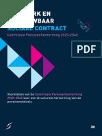 Rapport Pensioenscommissie 2014
