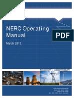NERC operating manual