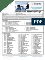 Inceptra Course Outline -CATIA V5 Advanced Part Assembly Design