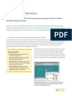 Aspen HYSYS Dynamics Datasheet