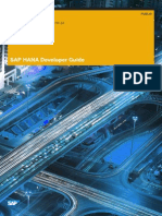 SAP HANA Developer Guide En